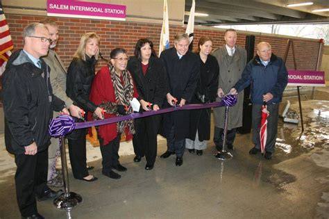Promo Salem Ribbon officials gather for ribbon cutting at salem s mbta garage local news salemnews