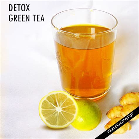 How To Detox Your With Green Tea by Diy Detox Green Tea