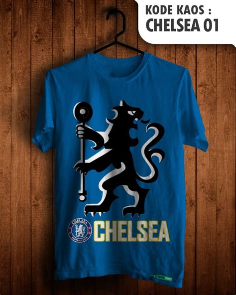 Kaos Distro One Zoro Cotton 30s 3 Varian Warna jual chelsea fans baju sepakbola kaos distro klub tim sepak bola jersey football fan club team