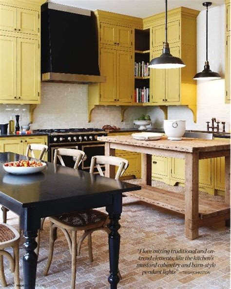 Mustard Kitchen Cabinets | mustard yellow interiors panda s house