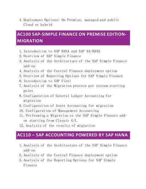 Sap Course For Finance Mba by Sap Simple Finance