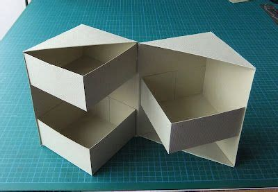 Origami Storage Box - secret box tutorial 4 1 2 quot high all things