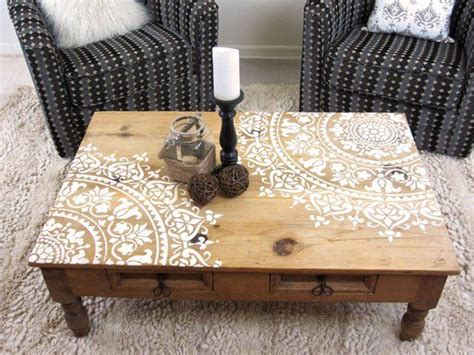 best 25 painted coffee tables ideas on rustic regarding wood table plan the makeover