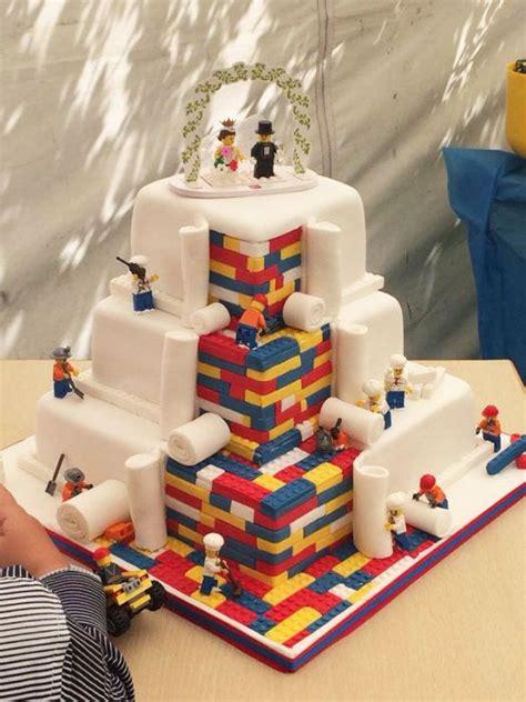 Hochzeitstorte Lego by Krasse Lego Hochzeitstorte Hochzeit Lego