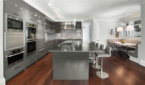 kitchen ideas grey kitchen warm up your kitchen with popular gray cabinets