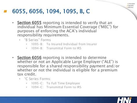 section 6055 and 6056 hr compliance crash course 6055 and 6056 reporting