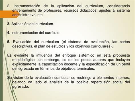 Modelo Curricular Reconceptualista Modelos Curriculares