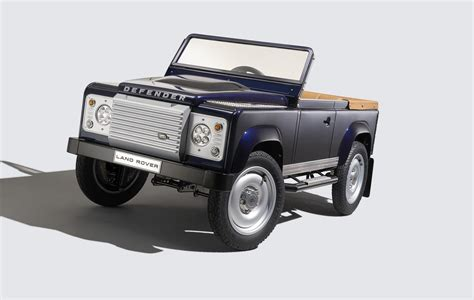 land rover defender 2016 2016 land rover defender pedal car concept garage car