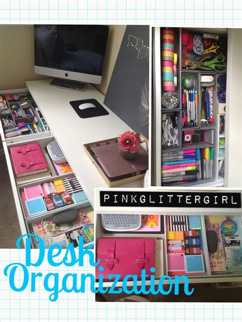 how to organize a desk without drawers 1000 images about office desk organization on pinterest