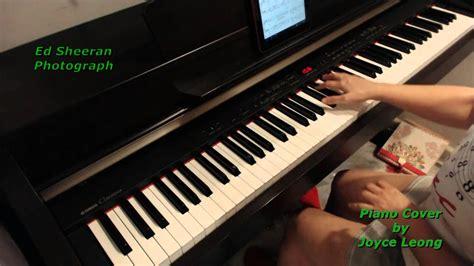 ed sheeran perfect joyce leong ed sheeran photograph piano cover and sheets youtube