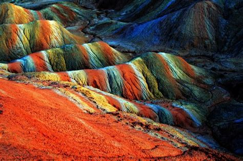 colorful mountains the colorful mountains of zhangye danxia filming
