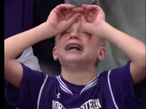 Meme Crying - crying northwestern kid becomes internet sensation