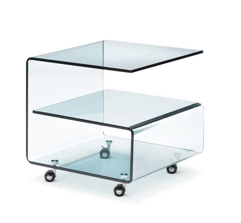 Tempered Glass Table zuo modern voyage side table tempered glass by oj commerce 404110 410 04