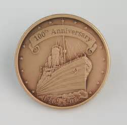 titanic coal coin rms titanic 100th anniversary