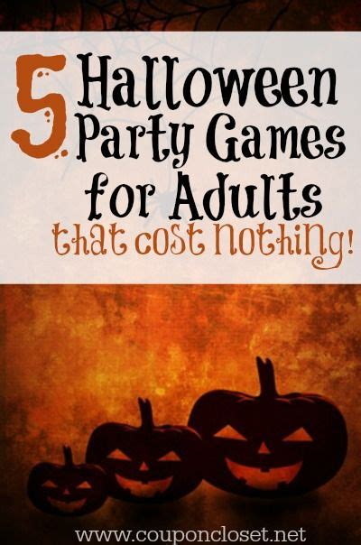 party games  adults games  adults  halloween