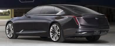 Cadillac Es Cadillac Escala Concept Unveiled At Pebble Previews
