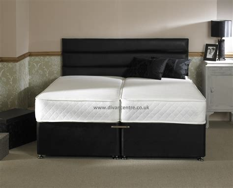 zip bed milan 1500 pocket sprung memory foam 5ft king size zip
