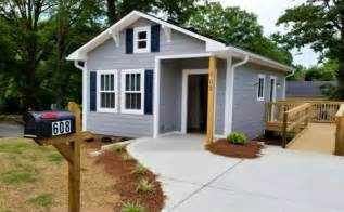 Small Home Plans Nc Habitat For Humanity Tiny House In Cabarrus County Nc