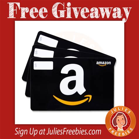 Win 1000 Amazon Gift Card - win a 1 000 amazon gift card julie s freebies
