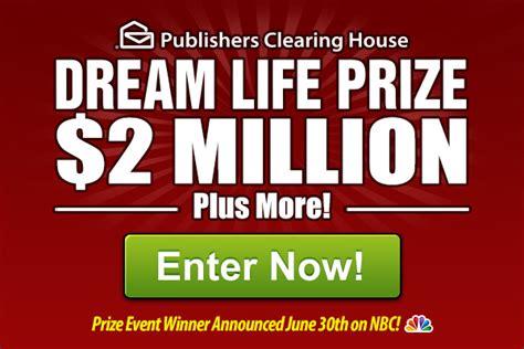 Pch Dream Life Prize Winner - win a dream life prize