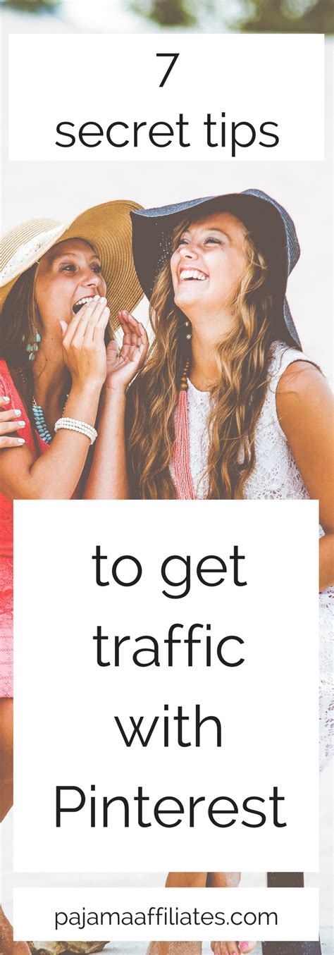 7 Tips On Getting Traffic To Your 7 secret tips to get traffic with pajama