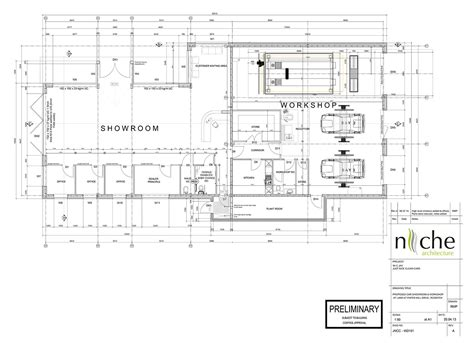 House Planning car showroom amp mot workshop niche architecture