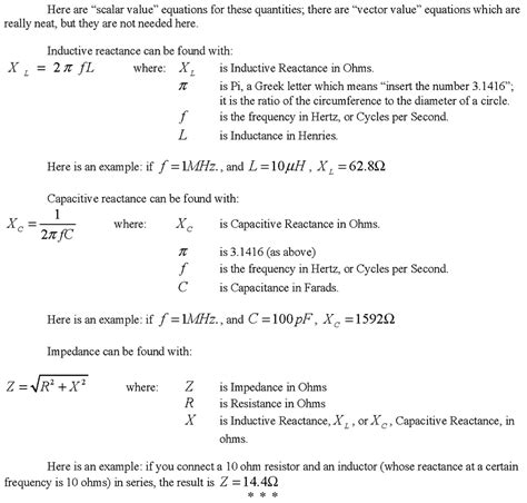 inductive reactance formula calculator the secret of a wire nuts volts magazine for the electronics hobbyist