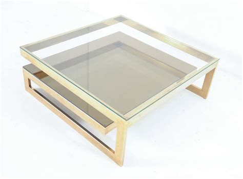 Z Coffee Table Z Shaped 23 Carat Gold Plated Coffee Table Vintage Home
