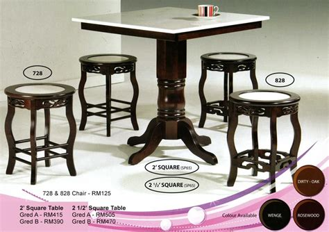 Japanese Dining Table Price Malaysia Xiao Wei 5pcs Marble Dining Table Solid Wood Kuala Lumpur