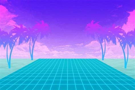 vaporwave background   stunning high