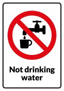 no drinking sign template how to create a no drinking sign