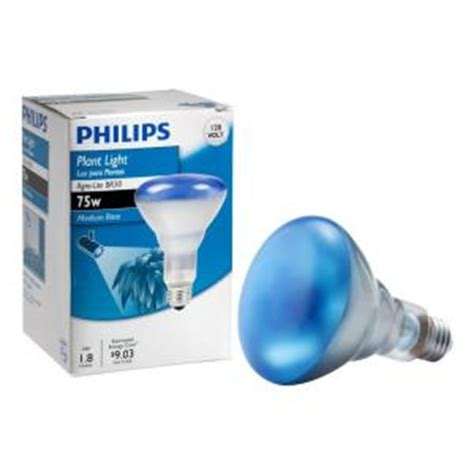 philips 75 watt agro plant light br30 flood light bulb