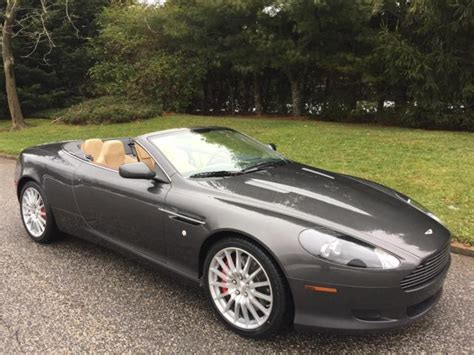 car maintenance manuals 2006 aston martin db9 engine control 2006 aston martin db9 convertible 20 175 miles standard paint convertible 12 cyl for sale