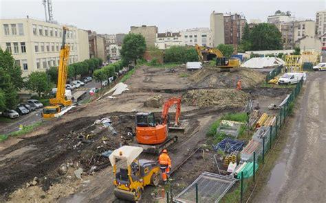 le de chantier baladeuse gpeclamart focus sur le chantier du grand express