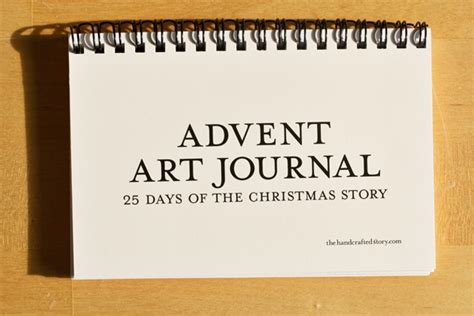 printable advent journal advent calendar art journal limited time free download