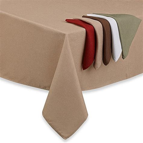 bed bath and beyond tablecloths basketweave tablecloth and napkin bed bath beyond