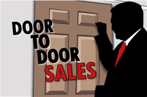 Door Sales Tips Better Selling by Summer Brings Door To Door Salesmen Concerns Of Possible Fraud Nelson County Gazette