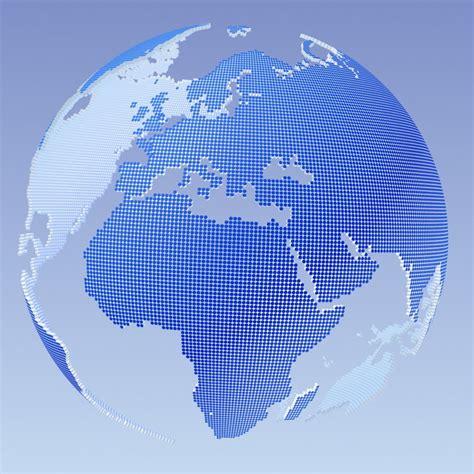 dot pattern globe 3ds max globe dotted mf