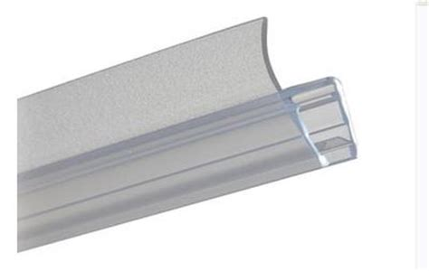 Shower Door Frame Seal Glass Shower Door To Glass Wall Seal 8 Mm Architectural Ironmongery Sds