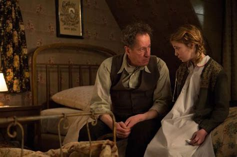themes in the film the book thief the book thief actress sophie n 233 lisse on geoffrey rush