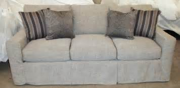 furniture sectional sofa with light blue cotton slip