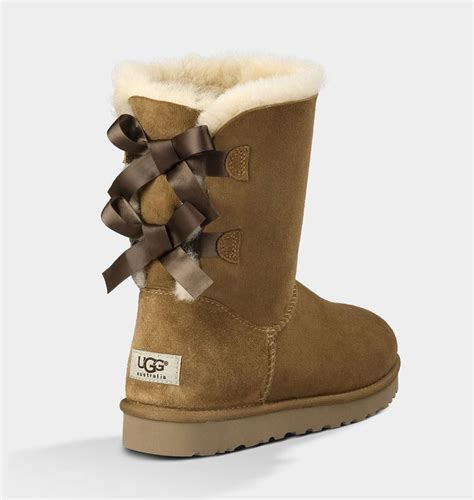 ugg boots bows on back ugg australia boots bailey bow chestnut fredericks cleveleys