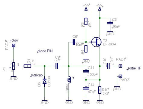 varactor diode parametric lifiers g 233 n 233 rateur hf 40 224 90 mhz sortie sinus synth 233 tis 233 par pll pilot 233 par un atmega8 pas de 10khz