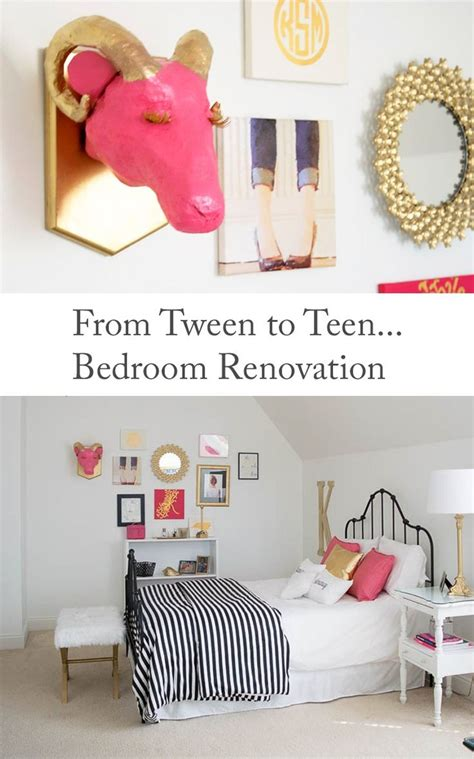 renovated decorations from tween to teen bedroom renovation decorating ideas