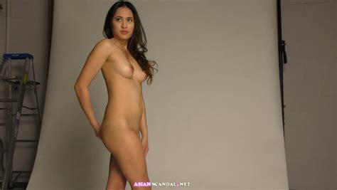 Singaporean Model Olivia Naked In The Studio