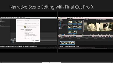 final cut pro app narrative scene editing with final cut pro x windows