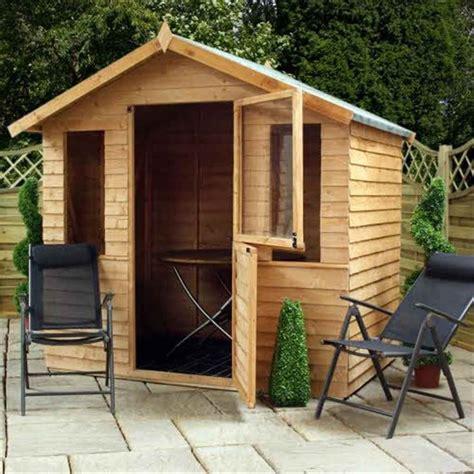 shedswarehouse oxford summerhouses installed 7ft x 5ft newmarket overlap summerhouse