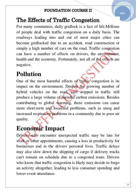 About traffic jam essay  Traffic congestion   UK Essays