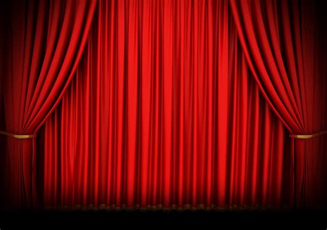 theater curtain background red curtain background