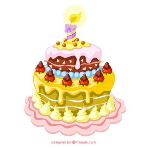 clipart compleanno gratis illustrazione di una torta di compleanno scaricare